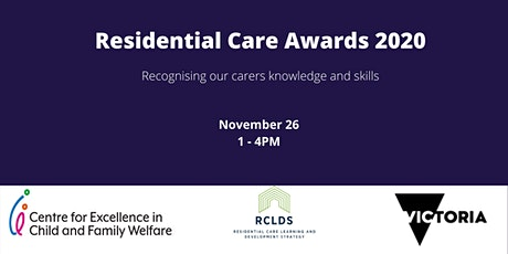Residential Care Awards 2020 tickets