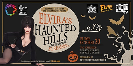 The Center and Scream Factory Present: Elvira's Haunted Hills tickets