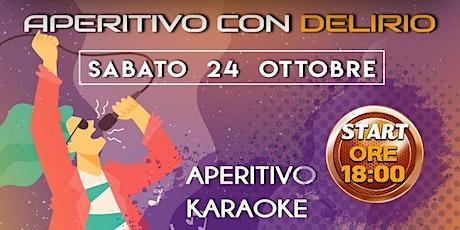 Aperitivo con Delirio @Camana Club biglietti