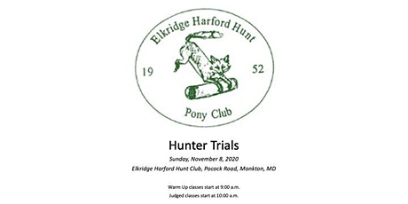 EHHPC Hunter Trials tickets