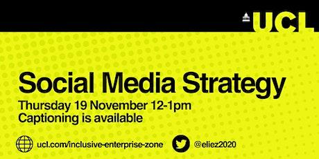 Social Media Strategy tickets