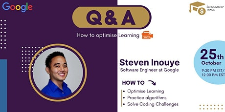 LIVE Q&A - Software Engineer at Google tickets