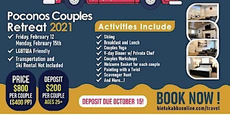 GYC Valentines Weekend Poconos Couples Retreat tickets
