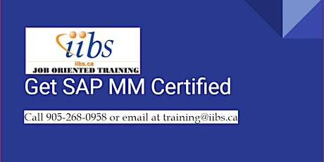 SAP S/4 HANA Sourcing and Procurement Certification Training (SAP MM) tickets
