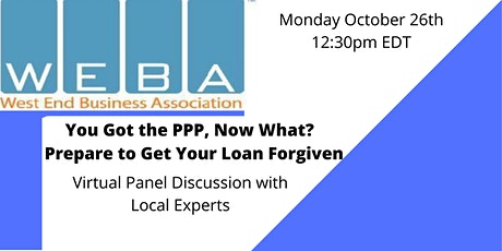 You Got Your PPP, Now What?!  Prepare to Get Your Loan Forgiven - Panel tickets