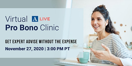 Immigration Pro-Bono Clinic (Virtual) tickets