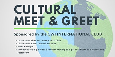 Cultural Meet & Greet hosted by the CWI International Club tickets