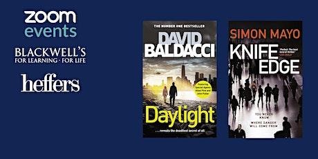 Masters of Crime: David Baldacci & Simon Mayo TICKET + SIGNED BOOKS tickets