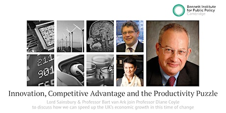 Innovation, Competitive Advantage and the Productivity Puzzle tickets