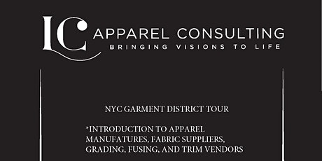 NYC GARMENT DISTRICT TOUR - NOVEMBER tickets