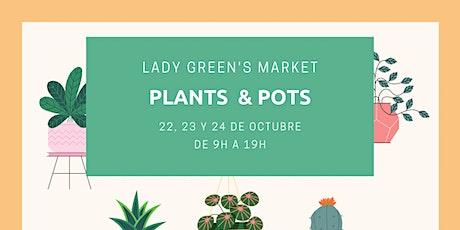"Lady Green's Market ""Plants & Pots"" entradas"