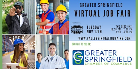 Greater Springfield | Virtual Job Fair (EMPLOYERS ONLY) tickets