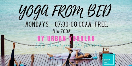 Yoga from Bed to Re-charge tickets