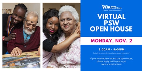 Virtual PSW Open House tickets