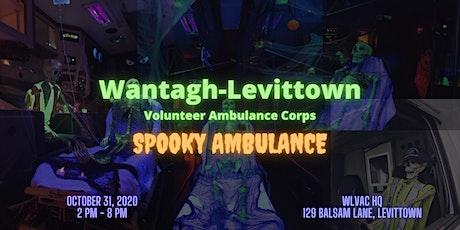 WLVAC Spooky Ambulance 10.31.2020 tickets
