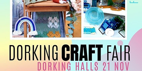 DORKING CRAFT FAIR | Dorking Halls 21 Nov tickets