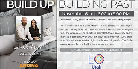 Build Up, Building Past  w/Kacie & Sam Malouf + GSEA Awards (Private Event) tickets