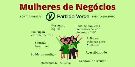 Mulheres de Negócios Partido Verde ingressos