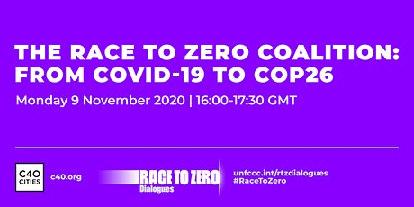 The Race to Zero Coalition: From COVID-19 to COP26 billets