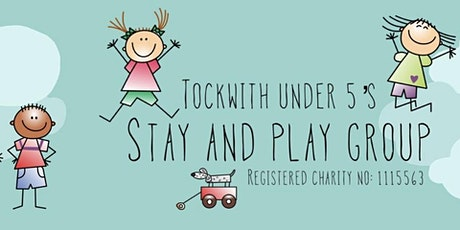 Tockwith Under 5's Stay and Play sessions on Tuesday mornings tickets