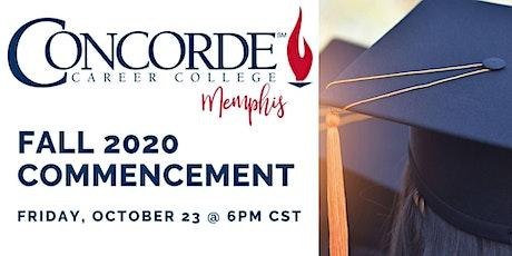 Concorde Career College - Memphis Campus' Virtual Fall 2020 Graduation tickets