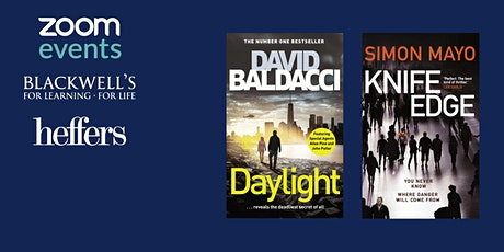 Masters of Crime with David Baldacci and Simon Mayo - TICKET ONLY tickets