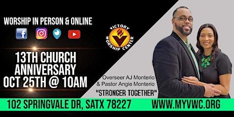 Victory Worship Center: Sunday Worship LIVE! 13th Church Anniversary