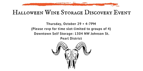 Halloween Wine Storage Discovery Event tickets