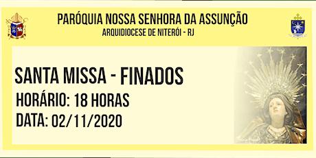 PNSASSUNÇÃO CABO FRIO - SANTA MISSA  FINADOS - 18 HORAS - 02/11/2020 ingressos