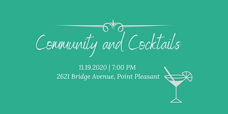Community & Cocktails tickets