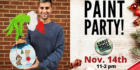 The Grinch Who Stole Christmas | Paint Party! tickets
