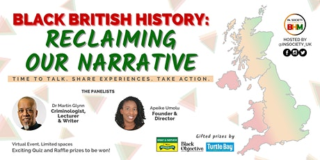 IN.Society Presents: Black British History- Reclaiming The Narrative tickets
