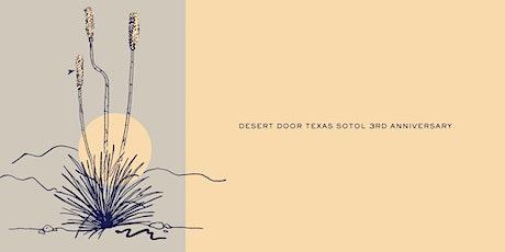 Desert Door 3rd Anniversary Party tickets