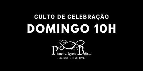 Culto de Celebração - 10h | 25.10.2020 ingressos