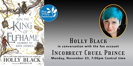 Holly Black |  How the King of Elfhame Learned to Hate Stories tickets