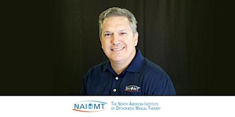 NAIOMT C-725B Advanced Spinal Manipulation Part B [Dallas]2021 tickets