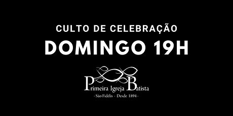 Culto de Celebração - 19h | 25.10.2020 ingressos
