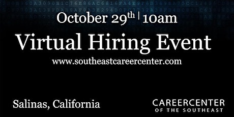 PSSI Virtual Hiring Event. Salinas, California tickets