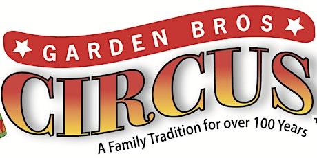 Garden Bros Circus Miami tickets