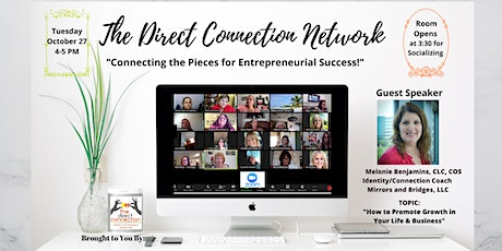 The Direct Connection Network Zoom Meeting with Melonie Benjamins tickets