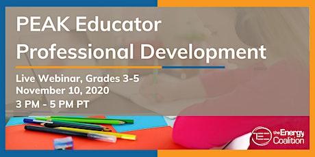 PEAK Educator Professional Development (Grades 3-5) tickets