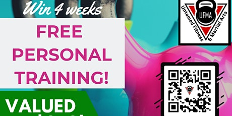Win 4 Weeks Free Personal Training! tickets