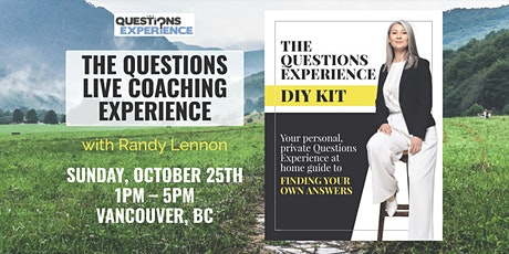 The Questions Live Coaching Experience (COVID-SAFE): Early Bird Ticket tickets