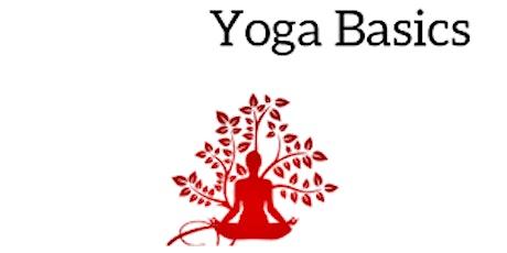 BACK to the BASICS - Beginner Yoga Mindset tickets