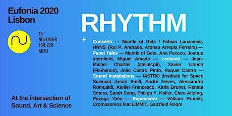 Eufonia Lisbon 2020: Rhythm bilhetes