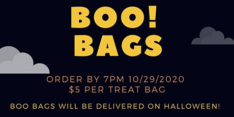 Boo! Bags tickets