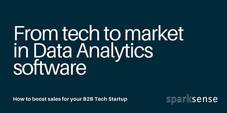From Tech to Market in Data Analytics Software tickets