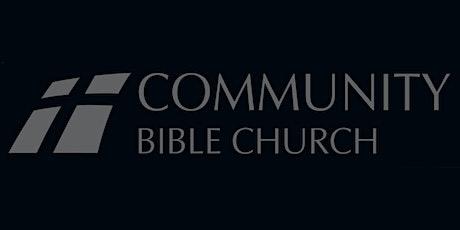October 25, 2020 Sunday Service Registration tickets