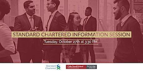 Standard Chartered - Information Session tickets