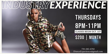 Copy of INDUSTRY EXPERIENCE AT JENAES DANCE EXPERIENCE tickets